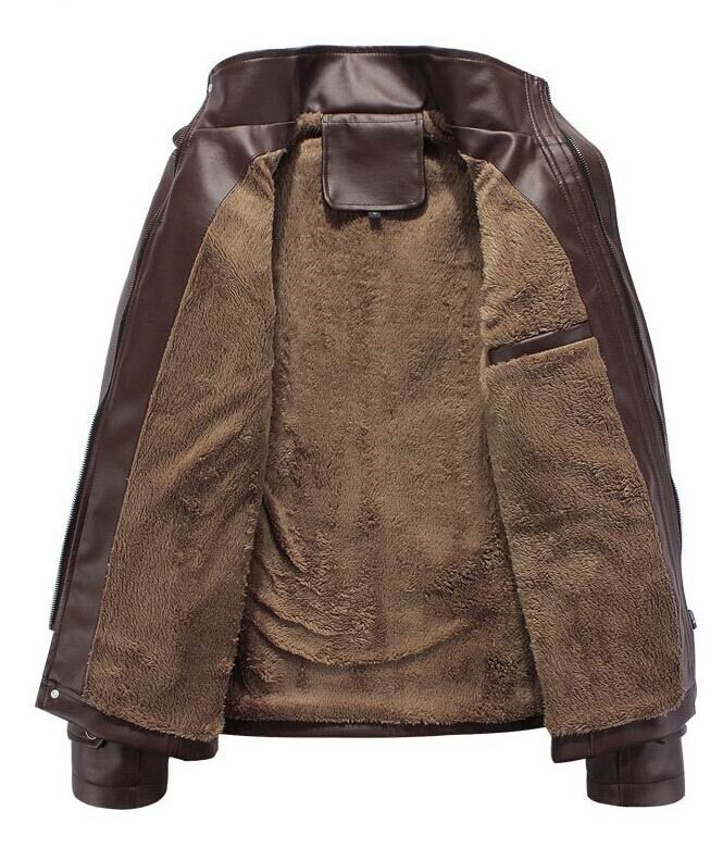 Мужские изделия из кожи и замши Brand Jaqueta Couro /3xl 0725