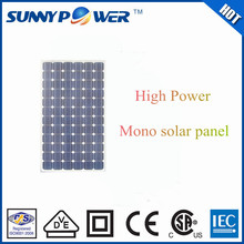 235W solar energy high efficiency pv mono solar panel with ISO,VDE,UL,SGS,CSA for solar power system factory direct price sale