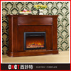 pebble used natural gas corner fireplace