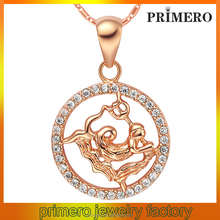 PRIMERO 925 Sterling Silver Zodiac Jewelry Charms Wholesale Aquarius Pendants Charms