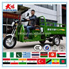 China Chongqing Nigeria 250cc closed cabin 3-wheel tricycle motorcycle truck for sale
