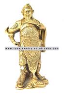 Brass Material Chinese Kwan Kong statue, ,fengshui Kuan Kong ,Guan Gong