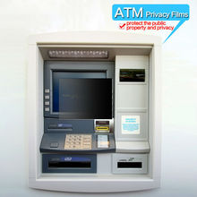 New design privacy screen protective film for ATM, anti spy protective guard for Bank ATM, anti peep screen saver for Bank ATM