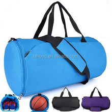 2015 High Volume Waterproof Pattern Promotional Sports bag for Women with Separated Shoe Compartment