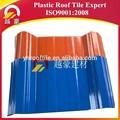 materiales para techos ondulados baratos con cubierta de plástico PVC