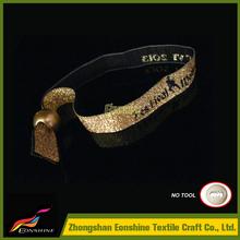 Ec-friendly custom wristbandsfor wedding candy packaging