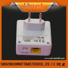 china supplier 500mbps wall-mount plc powerline adapter with Atheros AR9341 wifi module