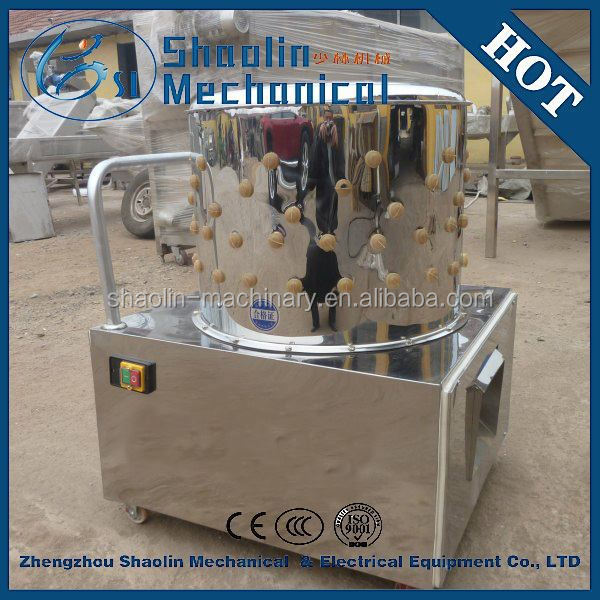 stainless steel family using mini quail plucker machine with best service
