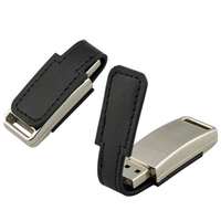Leather flash drive 1GB