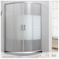 Double sliding door shower enclosure/shower room/shower cabin