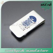made in china metal nickel money clip wallet