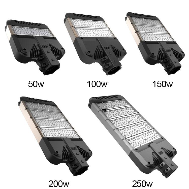 3 лет гарантии открытый high lumen алюминия 30 Вт-80 Вт led street light