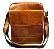Wholeslae Vintage Casual 100% Real Genuine Oil Wax Leather Cowhide Men Messenger Shoulder Bag Men's Crossbody Bag Bags For Men