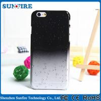 Hard PC Raindrop Case for iPhone 5/5S Gradual Change Color Fashion