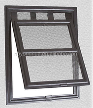 C408 plastic cat screen door, pet flap 20.3*25.4*1.8cm