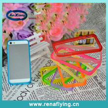2015 hot selling!! cellphone case silicon bumper frame case for iPhone 5