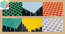 Anti- fibra di vetroimpatto modellata trincea griglia di copertura