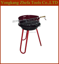 Promotion Three Legs Round Grill Windproof bbq grill with one skewer