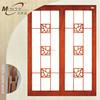 Wholesale interior wooden glass sliding doors