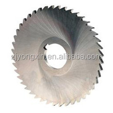 HSS circular saw blade/slitting cutter from superior supplier in stock/10000 pieces per month