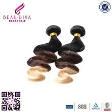 Hot sales price 6a grade bundles brazilian virgin hair color dye brazilian knot hair extension Body Wave T1b 4 27