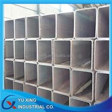 Q195 Q235 suppliers of galvanized square tube 4x4 galvanized square metal fence posts