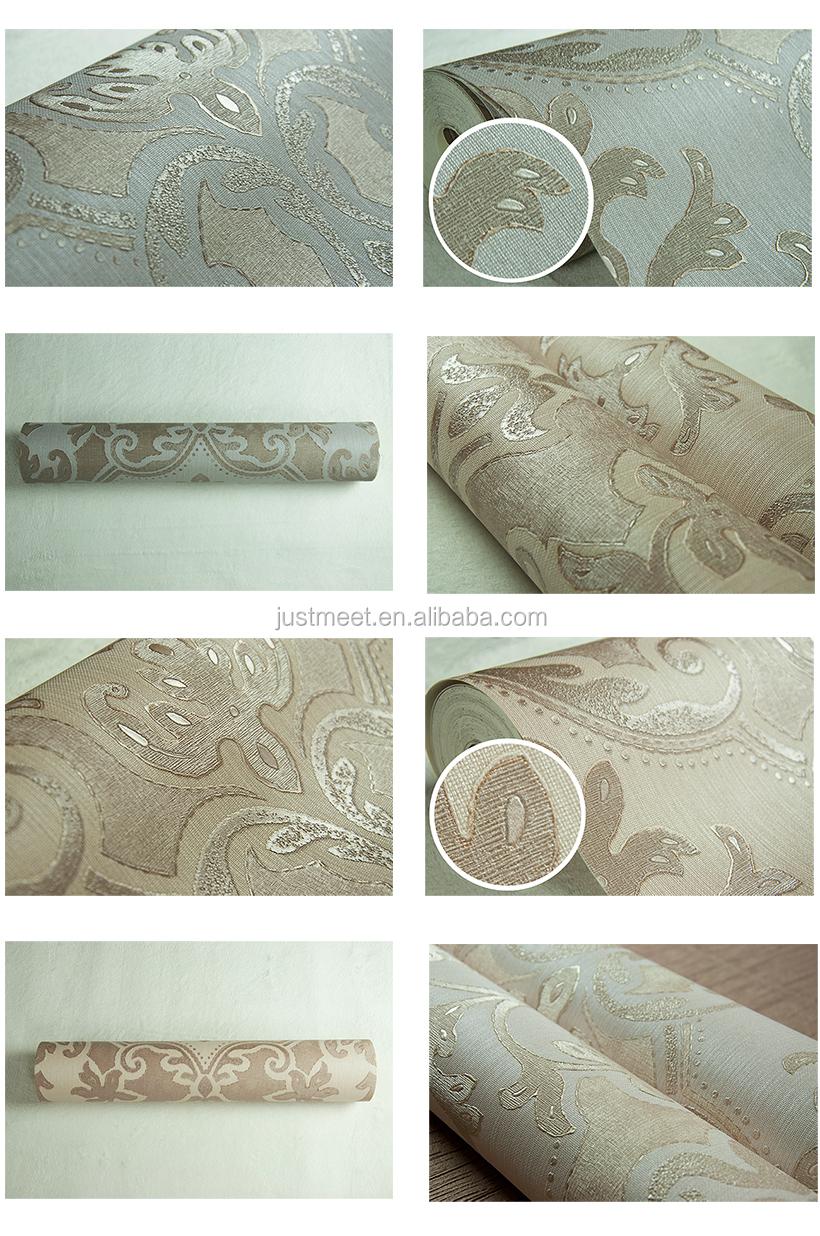 3d papier badkamer muur koreaanse behang/natuurlijk materiaal 3d ...