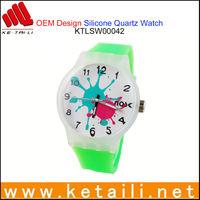 Unique OEM Design Silicone Digital Watch