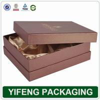 2015 high-end cheap cardboard paper wine box