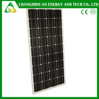 2015 China made mono solar cell 100W for solar pv panel