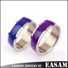 Fashion changing color mood ring wholesale