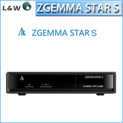 Best linux HD satellite receiver Original Zgemma Star S single dvb-s2 tuner replace to cloud ibox 2 plus se
