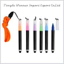 Novelty fashion promotional cord banner pen Best selling in China