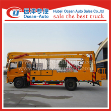 Construction machinery euro 4 diesel engine lifting 20-22m aerial platform vehicle