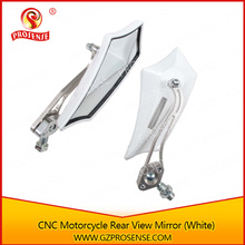 CNC Chrome Rear View Mirror to modified Motorcycle