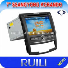 Fashionable Car DVD Player with IPOD/3DUI
