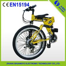 250W brushless motor green power mountain electric bike