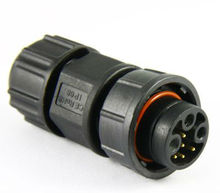 Middle 8 pin power and signal waterproof connetor