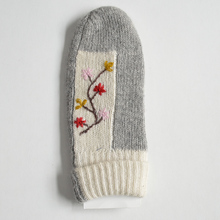 Girl Gloves Thick Warm 100% acrylic embroider gloves