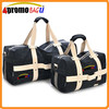Wholesale man large capacity 2 pcs canvas duffle bag