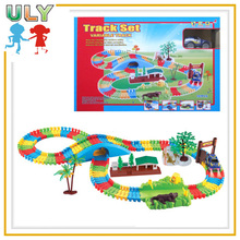 Creative blocks toy for kids building block track road racing track toys creative blocks toy for kids