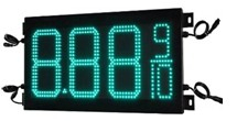 High quality Led gas price Signs/Led digital price changer/gas station displays