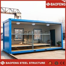 resist strong earthquake kingly 20 ft folding container house