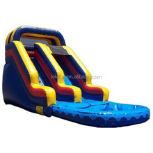 2015 cheap durable inflatable pirate ship water slide for sale