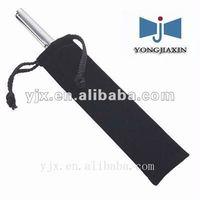 Velvet drawstrig pouch bag for pen