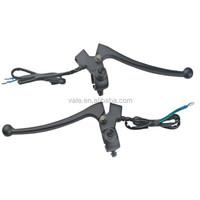 Custom CNC Aluminum Chrome Motorcycle Lever Handle fxd