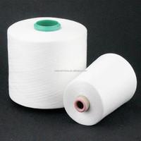 Raw White 50S 100 PCT Polyester Spun Yarn