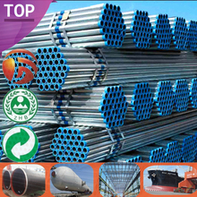 ASTM A53/A106/Q195 Factory Supply 8 inch schedule 40 galvanized steel pipe Coated Galvanized profiles galvanized steel price