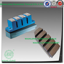T170 diamond brick for marble grinding,diamond bonded fickert for stone grinding and polishing