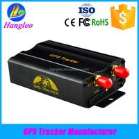 Real-time GSM GPRS system vehicle tracking device car gsm/gprs/gps device, GPS tracker TK103A